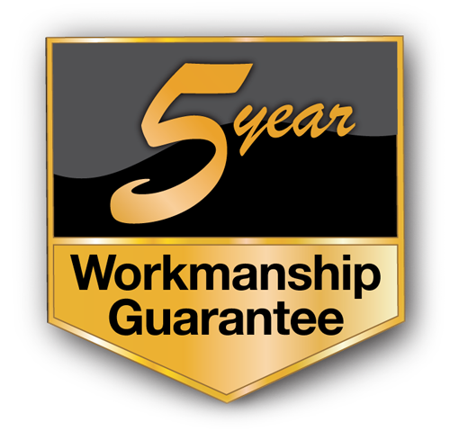kc roofing 5 year workmanship guarantee